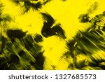 yellow and black abstract... | Shutterstock . vector #1327685573
