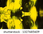 yellow and black abstract... | Shutterstock . vector #1327685609