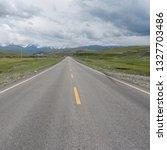 wild field highway    Shutterstock . vector #1327703486