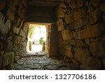 Inside Japanese Kofun Tomb