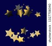 stars confetti horizontal... | Shutterstock .eps vector #1327708340