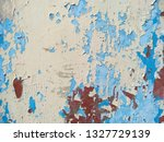 dirty and old wooden wall...   Shutterstock . vector #1327729139