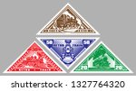 Set Of Vector Stamps Templates...