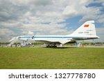 zhukovsky  russia   february 18 ... | Shutterstock . vector #1327778780