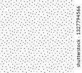 spotted seamless pattern. white ... | Shutterstock .eps vector #1327794566