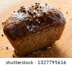 rye bread with coriander seeds... | Shutterstock . vector #1327795616
