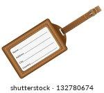 identification card vector... | Shutterstock .eps vector #132780674