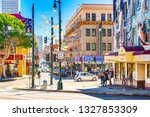 san francisco  california  usa  ... | Shutterstock . vector #1327853309