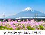 Shinkansen Bullet Train Passing ...