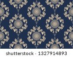 seamless wallpaper pattern in... | Shutterstock .eps vector #1327914893