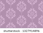 seamless wallpaper pattern in... | Shutterstock .eps vector #1327914896