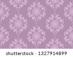 seamless wallpaper pattern in... | Shutterstock .eps vector #1327914899