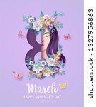 international women's day 8... | Shutterstock .eps vector #1327956863