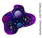 space vector illustration with... | Shutterstock .eps vector #1327997603