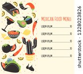 set of colorful hand drawn... | Shutterstock .eps vector #1328023826