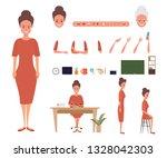 business woman character... | Shutterstock .eps vector #1328042303