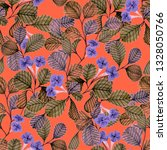 seamless pattern with hand... | Shutterstock . vector #1328050766