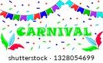 vector illustration carnival ... | Shutterstock .eps vector #1328054699