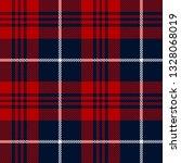 blue  red and white tartan... | Shutterstock .eps vector #1328068019