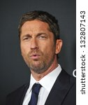 gerard butler at the los... | Shutterstock . vector #132807143