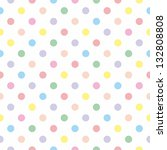 seamless vector sweet pattern... | Shutterstock .eps vector #132808808