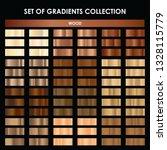 set of wood gradient. mega... | Shutterstock .eps vector #1328115779