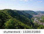 road trip in may swabian alb...   Shutterstock . vector #1328131883
