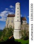 road trip in may huge tower of...   Shutterstock . vector #1328132330