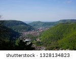 road trip in may panorama from...   Shutterstock . vector #1328134823