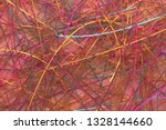 messy strings virtual backdrop  ... | Shutterstock . vector #1328144660
