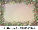 abstract virtual paper frame... | Shutterstock . vector #1328146076
