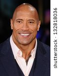 dwayne johnson arriving for the ... | Shutterstock . vector #132818036