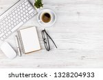 accounting. items for doing... | Shutterstock . vector #1328204933