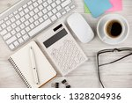 accounting. items for doing... | Shutterstock . vector #1328204936