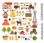 agriculture farming harvesting... | Shutterstock .eps vector #1328244920