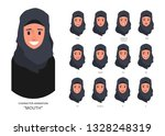 lip sync collection for mouth... | Shutterstock .eps vector #1328248319