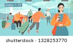 vector illustration of people...   Shutterstock .eps vector #1328253770