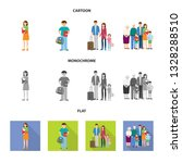isolated object of character... | Shutterstock .eps vector #1328288510