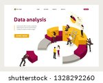 isometric collecting and... | Shutterstock .eps vector #1328292260