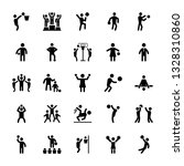 sports pictograms vector pack | Shutterstock .eps vector #1328310860