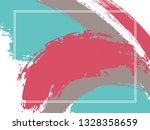 horizontal border with paint... | Shutterstock .eps vector #1328358659