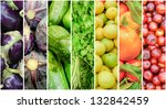 Summer Fruits And Vegetable...