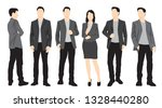 set of silhouettes of men and... | Shutterstock .eps vector #1328440280