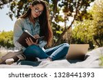 close up of a college student... | Shutterstock . vector #1328441393