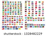 square flags of the world ... | Shutterstock .eps vector #1328482229