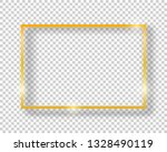 vector golden shiny vintage... | Shutterstock .eps vector #1328490119