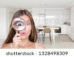 home shopping funny inspection... | Shutterstock . vector #1328498309