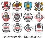 auto spare parts store  car...   Shutterstock .eps vector #1328503763