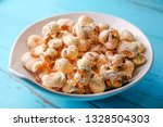 a bunch of popcorn | Shutterstock . vector #1328504303