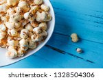 a bunch of popcorn | Shutterstock . vector #1328504306